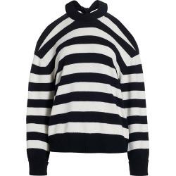 Monse Women's Stripe Merino Wool Halterneck Sweater - Midnight Ivory - Size Medium found on MODAPINS from Saks Fifth Avenue for USD $790.00