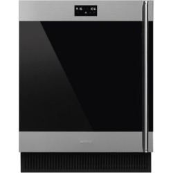 "CVIU338LX 24"" Classic Built-In Under Counter 38 bottle Wine Cooler - Stainless Steel"