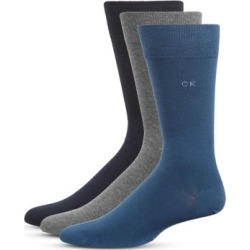 Mens 3-Pack Flat Knit Socks found on Bargain Bro India from The Bay for $22.50