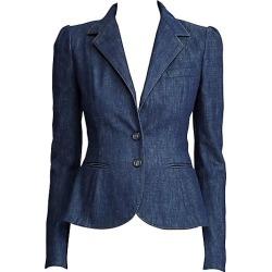 Ralph Lauren Collection Women's Eloise Denim Jacket - Midnight - Size 12