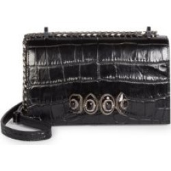 Jewelled Croc-Embossed Leather Satchel found on Bargain Bro Philippines from Saks Fifth Avenue Canada for $2359.42