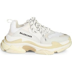 Balenciaga Men's Triple S Sneakers - White - Size 45 (12) found on Bargain Bro India from Saks Fifth Avenue for $895.00