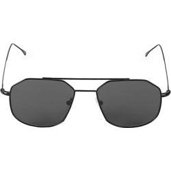 Illesteva Women's 53MM Montevideo Matte Aviator Sunglasses - Black found on MODAPINS from Saks Fifth Avenue for USD $195.00