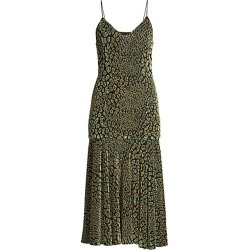 Caroline Constas Women's Kai Slip Dress - Teal - Size Small found on MODAPINS from Saks Fifth Avenue for USD $277.99