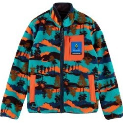 Colourful Reversible Fleece Jacket