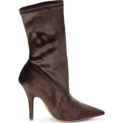 Yeezy Women's Velvet Sock Booties - Mink - Size 35 (5) found on MODAPINS from Saks Fifth Avenue OFF 5TH for USD $299.99