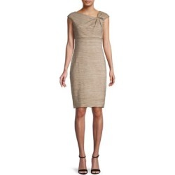 Short-Sleeve Asymmetric Neck Dress found on Bargain Bro Philippines from The Bay for $79.60