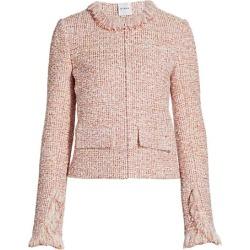 Slub-Knit Fringed Bouclé Jacket found on Bargain Bro Philippines from Saks Fifth Avenue AU for $1687.30