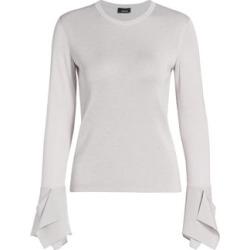 Chiffon-Cuff Silk Lurex Knit Sweater found on Bargain Bro India from Saks Fifth Avenue AU for $894.30