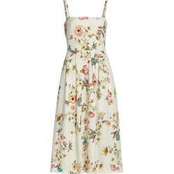 Monique Lhuillier Women's Tuileries Printed Tea-Legnth Dress - Ivory - Size 12 found on MODAPINS from Saks Fifth Avenue for USD $1895.00