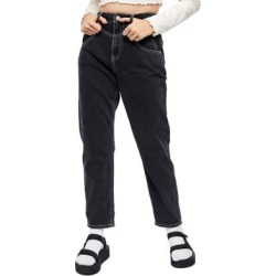 Relaxed-Fit Tapered-Leg Mom Jeans