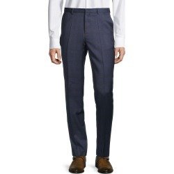 Hugo Hugo Boss Men's Plaid Wool Pants - Navy - Size 34 found on MODAPINS from Saks Fifth Avenue OFF 5TH for USD $79.99