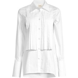 Michelle Cotton Poplin Tuxedo Shirt found on Bargain Bro Philippines from Saks Fifth Avenue Canada for $448.86