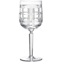 Ralph Lauren Hudson Plaid Red Wine Glass found on Bargain Bro India from Saks Fifth Avenue for $95.00