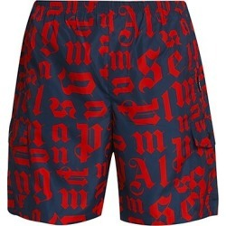 Broken Monogram Swim Trunks found on MODAPINS from Saks Fifth Avenue UK for USD $383.70