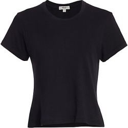 Agolde Women's Linda Boxy Tee - Nocturne - Size XS found on MODAPINS from Saks Fifth Avenue for USD $58.00