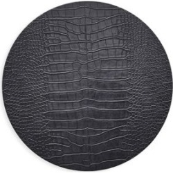 Crocodile-Embossed Placemat