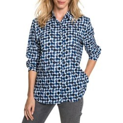 Dot-Print Cotton-Blend Shirt found on GamingScroll.com from The Bay for $63.96