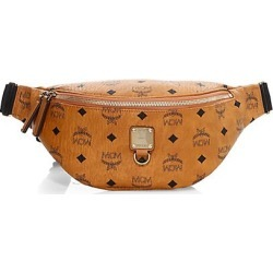 MCM Women's Small Fursten Visetos Belt Bag - Cognac found on MODAPINS from Saks Fifth Avenue for USD $475.00