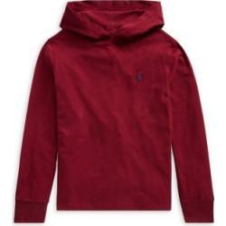 T-shirt à capuchon en jersey de coton pour garçon