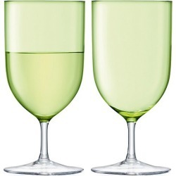 LSA Hint Two-Piece Wine/Water Glass Set