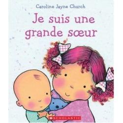 Je suis une grande soeur Book (French Version)