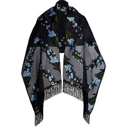 Lela Rose Women's Wildflower Silk-Blend Shawl - Skyflower found on MODAPINS from Saks Fifth Avenue for USD $207.00