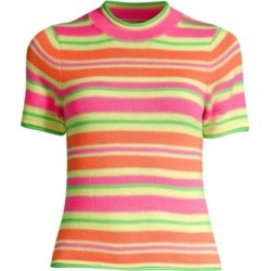 Stripe Merino Wool Knit Tee