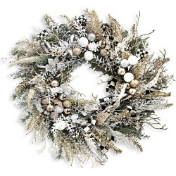 MacKenzie-Childs Silver Lining Wreath