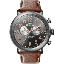 Runwell Chronograph Leather Strap Watch found on MODAPINS from Saks Fifth Avenue Canada for USD $941.67