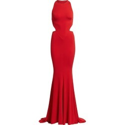 Alexandre Vauthier Women's Stretch Jersey Halterneck Gown - Red - Size 34 (2) found on MODAPINS from Saks Fifth Avenue for USD $1111.50
