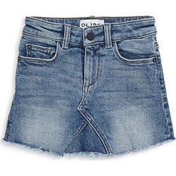 DL1961 Premium Denim Little Girl's Jenny Denim Skirt - Blue Rose - Size 3