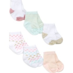 Baby's Everyday Crews 6-Piece Sock Set
