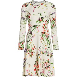 Lela Rose Women's Wildflower Dress - Ivory - Size 12 found on MODAPINS from Saks Fifth Avenue for USD $447.00