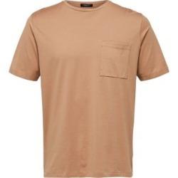 T-shirt en tricot de coton circulaire avec poche found on Bargain Bro Philippines from La Baie for $12.96