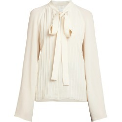 Giambattista Valli Women's Bell-Sleeve Tieneck Blouse - Ivory - Size 40 (4) found on MODAPINS from Saks Fifth Avenue for USD $1590.00