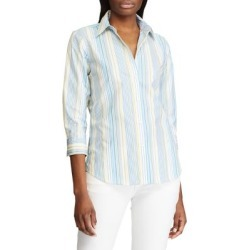 Straight-Fit Striped Cotton Shirt found on GamingScroll.com from The Bay for $18.96