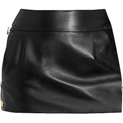 Alexandre Vauthier Women's Leather Mini Skirt - Black - Size 36 (4) found on MODAPINS from Saks Fifth Avenue for USD $2510.00