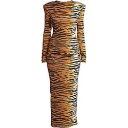Alexandre Vauthier Women's Tiger Jersey Gown - Tiger - Size XS found on MODAPINS from Saks Fifth Avenue for USD $1710.00