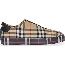 Burberry Women's Markham Slip-On Vintage Check Sneakers - Size 37 (7) found on MODAPINS from Saks Fifth Avenue for USD $450.00