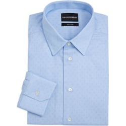 Micro Print Dress Shirt found on Bargain Bro India from Saks Fifth Avenue AU for $134.28