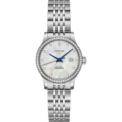Longines Men's Record Collection Diamond & Mother-Of-Pearl Stainless Steel Bracelet Watch - Mother Of Pearl found on MODAPINS from Saks Fifth Avenue for USD $4325.00
