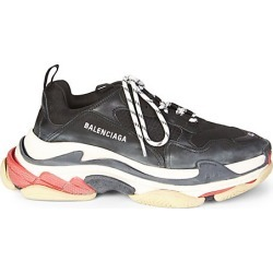Balenciaga Men's Triple S Sneakers - Black - Size 40 (7) E found on MODAPINS from Saks Fifth Avenue for USD $975.00