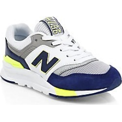 New Balance Boy's 997 Mesh Logo Sneakers - Moroccan - Size 5 (Baby) found on Bargain Bro India from LinkShare USA for $69.95