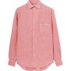 Linen Pocket Button-Down Shirt