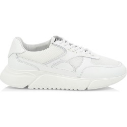 Axel Arigato Men's Genesis Mesh Leather Low-Top Sneakers - White - Size 7.5 found on MODAPINS from Saks Fifth Avenue for USD $255.00