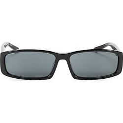 Balenciaga Men's 60MM Rectangular Tiny Sunglasses - Black found on MODAPINS from Saks Fifth Avenue for USD $350.00