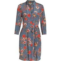 L'Agence Women's Stella Short Shirtdress - Antique Rose - Size Medium