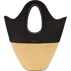 Danse Lente Women's Small Leather & Raffia Tote - Black found on MODAPINS from Saks Fifth Avenue for USD $375.00