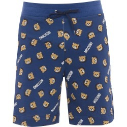 Moschino Men's Home Teddy Printed Shorts - Blue Multi - Size XS found on Bargain Bro Philippines from Saks Fifth Avenue for $250.00